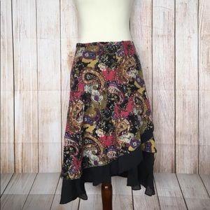 Dresses & Skirts - Wrap around mid length skirt OS